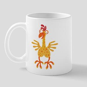 Loony Chicken Mug