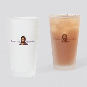 Blessed Peacemakers Pint Glass