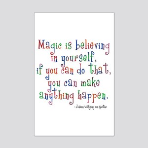 Magic Believe Mini Poster Print