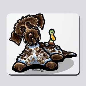 Funny Pointing Griffon Mousepad
