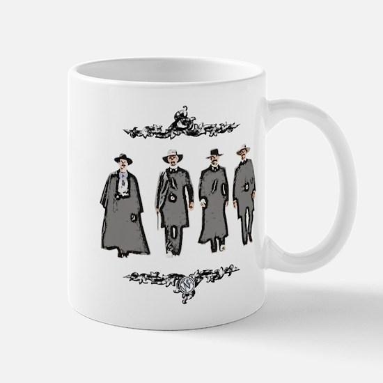 """Lawmen or Outlaws"" Mug"