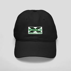 World X Logo Black Cap