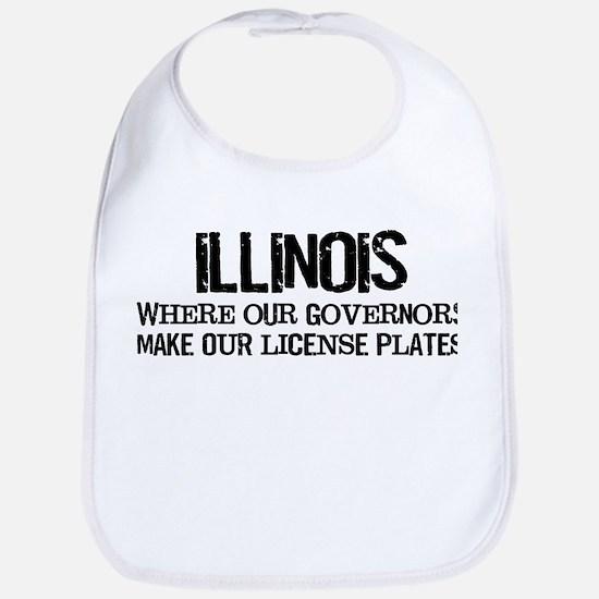Illinois Governor Bib