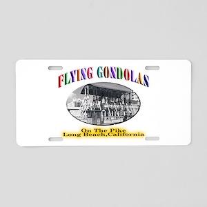 Flying Gondolas Aluminum License Plate