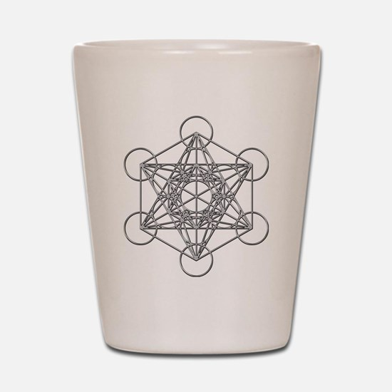 Metatrons Cube Shot Glass