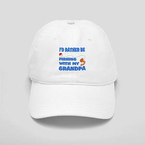 42fa3cbe2e5 Rather Be Fishing With Grandp Cap