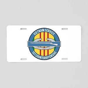 Vietnam TET 69 CIB Aluminum License Plate