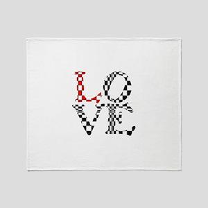 LOVE XXXIII Throw Blanket