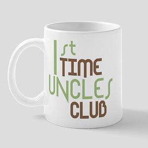 1st Time Uncles Club (Green) Mug