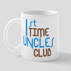 1st Time Uncles Club (Blue) Mug