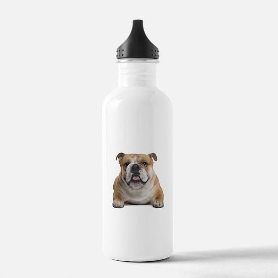 Funny Bulldog Water Bottle