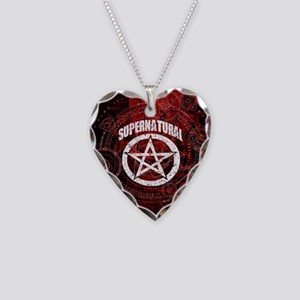 Supernatural Necklace Heart Charm