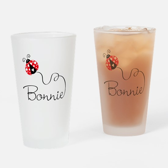 Ladybug Bonnie Pint Glass