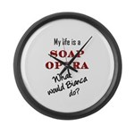 What Would Bianca Do? Large Wall Clock