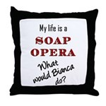 What Would Bianca Do? Throw Pillow