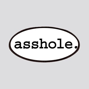 asshole. Patches