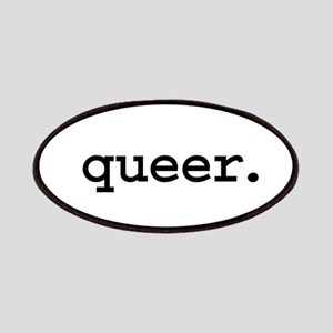 queer. Patches