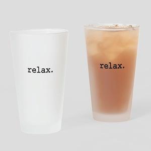 relax. Pint Glass