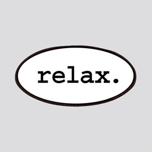 relax. Patches