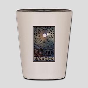 The Pantheon Shot Glass