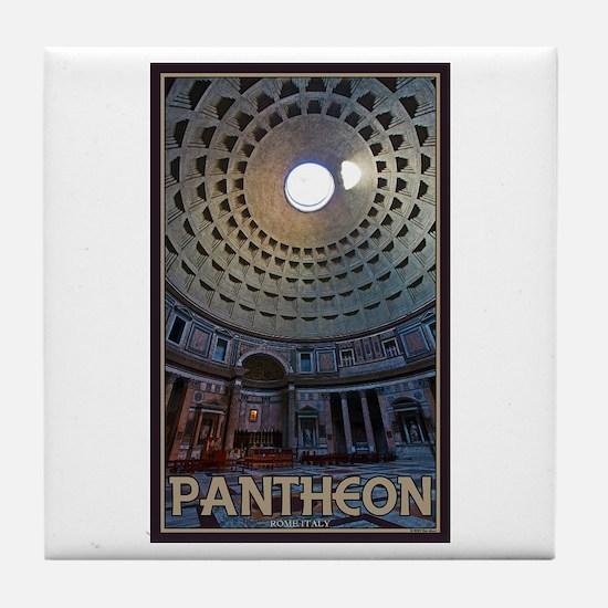 The Pantheon Tile Coaster