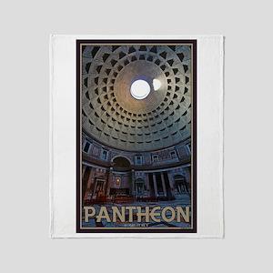 The Pantheon Throw Blanket