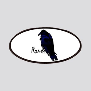Raven on Raven Patches