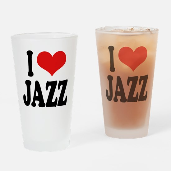I Love Jazz Pint Glass