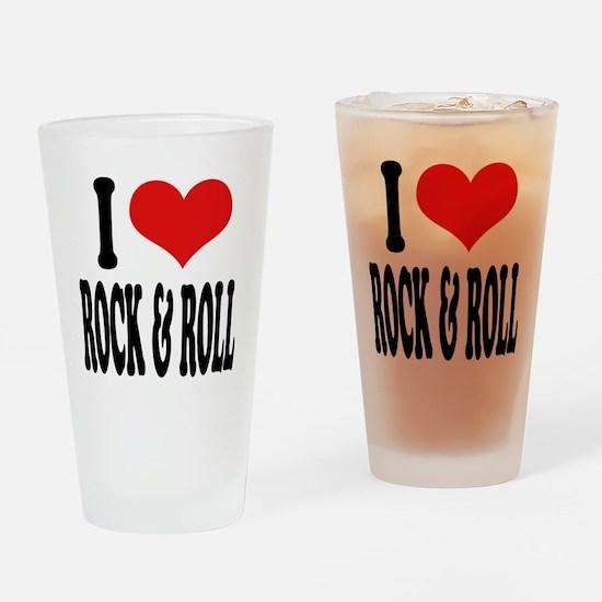 I Love Rock & Roll Pint Glass