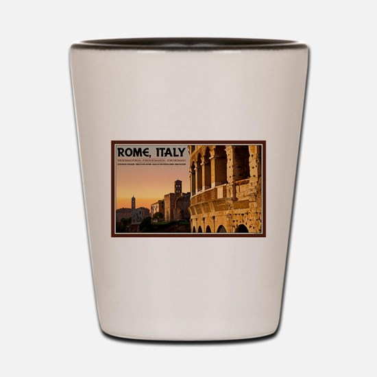 Rome Sunset Shot Glass