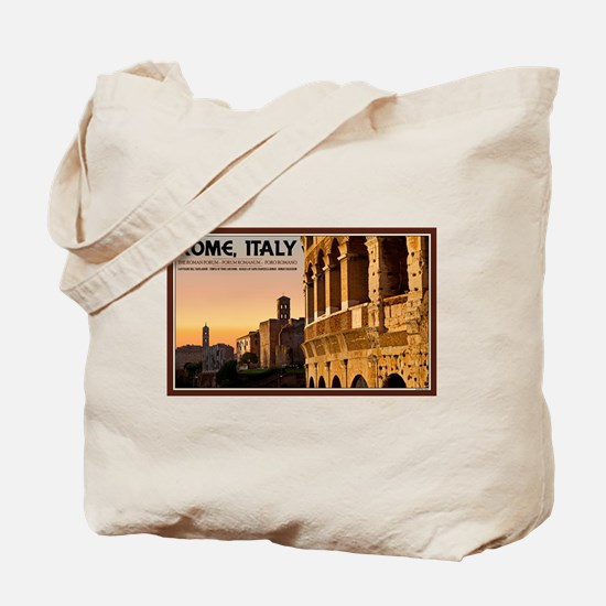 Rome Sunset Tote Bag