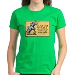 Jim Langley Women's Bike Wheels Logo T T-Shirt