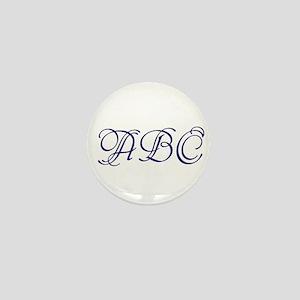 Monogram Mini Button