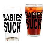 Babies Suck Pint Glass