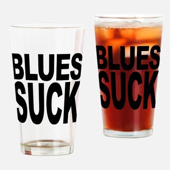 Blues Suck Pint Glass