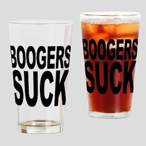 Boogers Suck Pint Glass