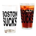 Boston Sucks Pint Glass