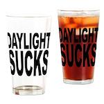 Daylight Sucks Pint Glass