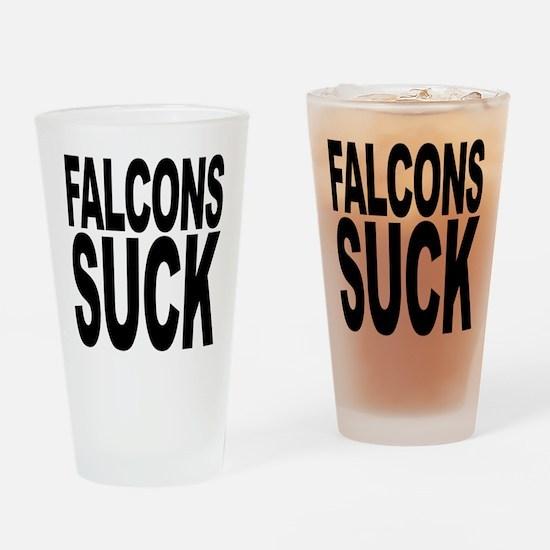 Falcons Suck Pint Glass