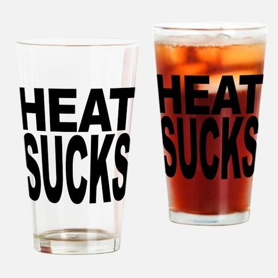 Heat Sucks Pint Glass