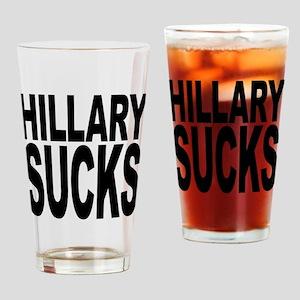 Hillary Sucks Pint Glass