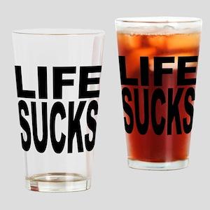 Life Sucks Pint Glass