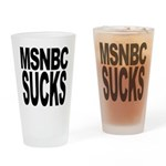 MSNBC Sucks Pint Glass