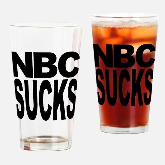 NBC Sucks Pint Glass