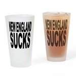 New England Sucks Pint Glass