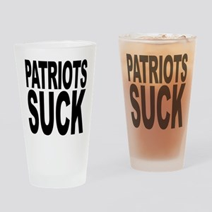 Patriots Suck Pint Glass