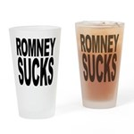 Romney Sucks Pint Glass