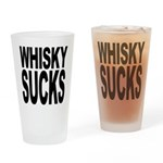 Whisky Sucks Pint Glass