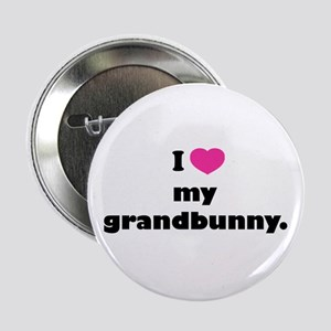 "I love my grandbunny. 2.25"" Button"