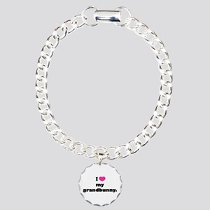 I love my grandbunny. Charm Bracelet, One Charm